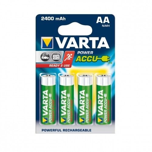 VARTA AKUMULATORY R6 2400 mAh 4szt ready 2 use