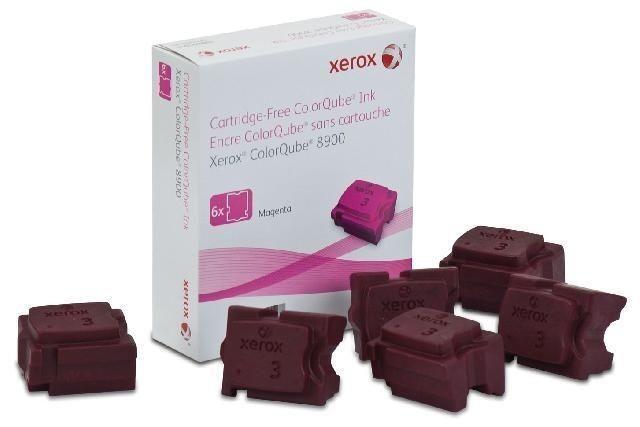 Xerox Kostki Solid Ink magenta x6 | 16 900str | ColorQube 8900