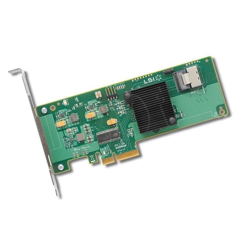 LSI HBA 9211-4i PCIe x4 SAS 4 Port intern sgl.***