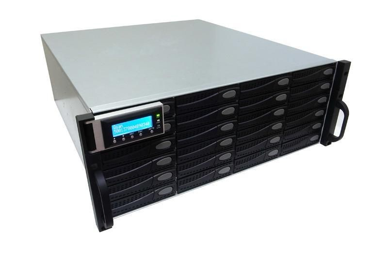 QSAN J300Q-D424 - półka dyskowa JBOD 48TB (24 x 2TB SAS 7k2rpm) 4U podwójny kontroler
