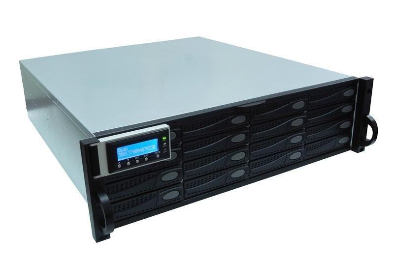 QSAN J300Q-D316 - półka dyskowa JBOD 32TB (16 x 2TB SAS 7k2rpm) 3U podwójny kontroler