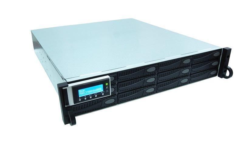 QSAN J300Q-D212 - półka dyskowa JBOD 24TB (12 x 2TB SAS 7k2rpm) 2U podwójny kontroler
