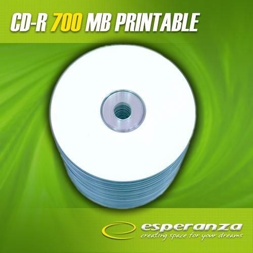 Esperanza CD-R 56x 700MB (Spindle 100) PRINTABLE