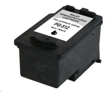 Armor cartridge pro CANON Pixma MP250, MP270 (PG512) black 15ml