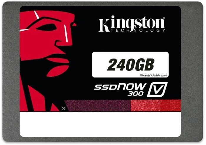 Kingston V300 SSD 240GB SATA3, 2.5'' MLC 7mm; (odczyt/zapis; 450/450MB/s)