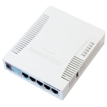MikroTik RB951G-2HnD RouterOS L4 128MB RAM, 5xGig LAN, 1xUSB, 2.4GHz 802.11b/g/n