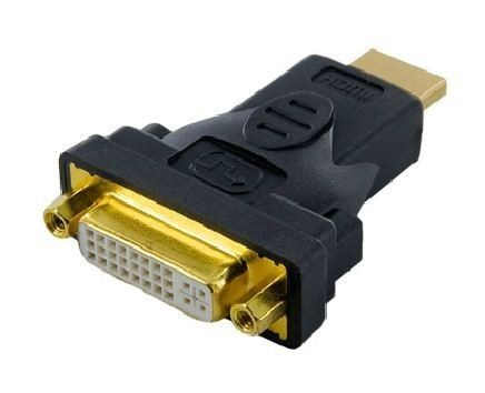 4World Adapter HDMI [M] > DVI-I [F] (24+5), czarny