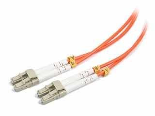 Gembird światłowód krosowy LC-LC duplex mm 50/125 OM2 pomarańczowy 10m