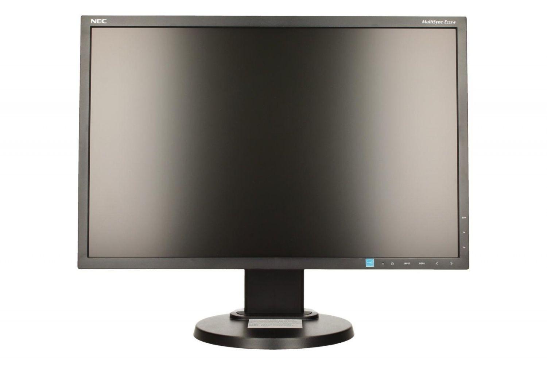 NEC Monitor E223W 22inch, 1680x1050, DP/mini D-Sub/DVI, czarny