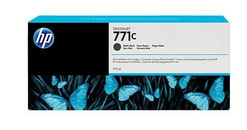 HP Tusz HP Designjet 771C mate black | 775 ml