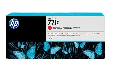 HP Tusz HP Designjet 771C red | 775 ml