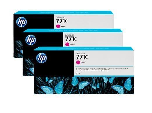 HP Tusz HP Designjet 771C magenta | 775 ml | 3 pojemniki