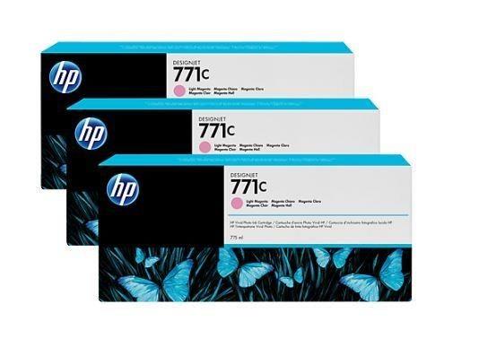 HP Tusz HP Designjet 771C light magenta | 775 ml | 3 pojemniki