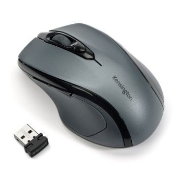 Kensington Mysz Pro Fit Mid Size Wireless Graphite Grey Mouse