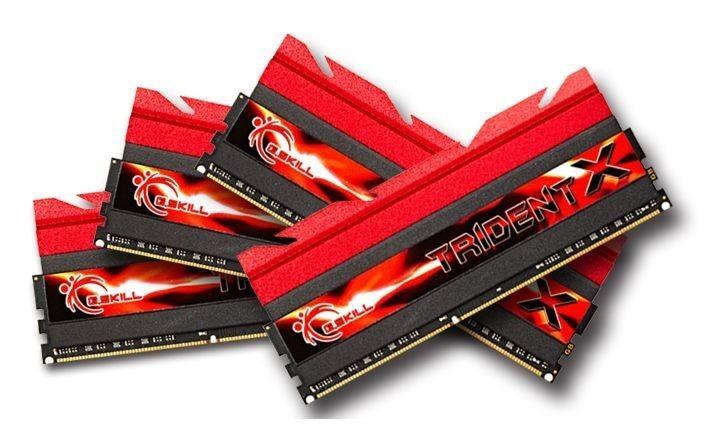 GSkill DDR3 32GB (4x8GB) TridentX X79 1600MHz CL7 XMP
