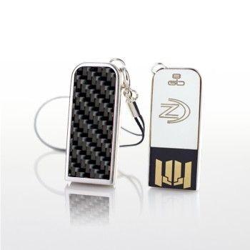 ZaNa Design Fioso Carbon 32GB (posrebrzana obudowa, chrom)