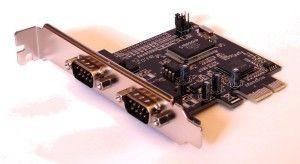 Unitek Kontroler PCI-E, 2x RS-232, Y-7504