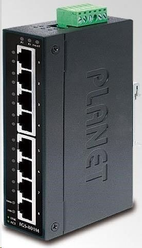 Planet IGS-801M Switch Przemysłowy 8p. Gigabitowy