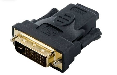4World Adapter DVI-D [M] (24+1) > HDMI [F], czarny