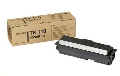 Kyocera toner TK-110 originální toner, black (černý) na 6 000 stran
