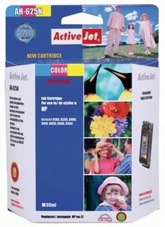 ActiveJet Tusz ActiveJet AH-17N | Color | 47 ml | HP C6625A HP 17