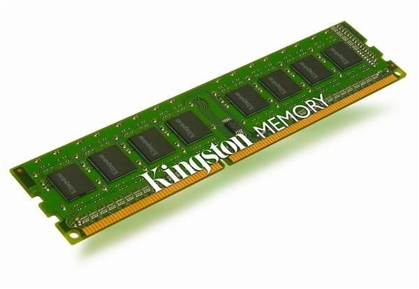 Kingston Moduł pamięci Valueram/8GB 1333MHz DDR3 CL9 DIMM Kitx2