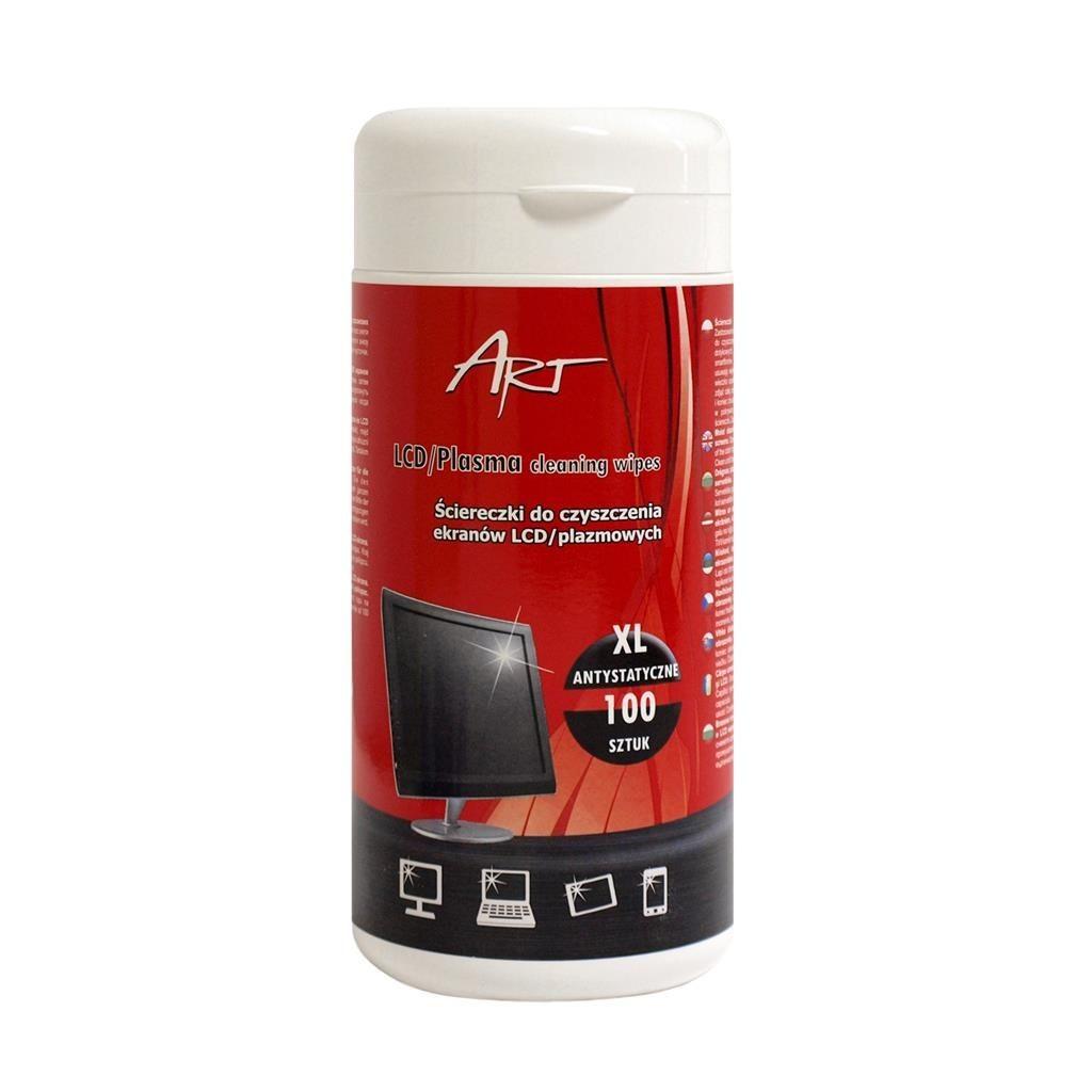 ART AS-14 Ściereczki XL do czyszczenia ekranów LCD/TFT 100SZT