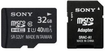 Sony Karta pamięci microSD 32GB | z adapterem | class 10 | 40MB/s