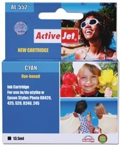 ActiveJet Tusz ActiveJet AE-552 | Cyan | 13,5 ml | Chip | Epson T0552