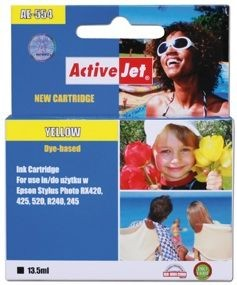 ActiveJet Tusz ActiveJet AE-554N | Yellow | 13,5 ml | Chip | Epson T0554