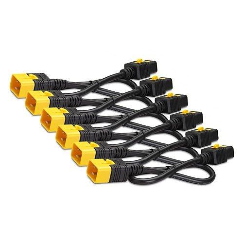 APC Power Cord Kit (6 ea), Locking, C19 to C20, 0.6m