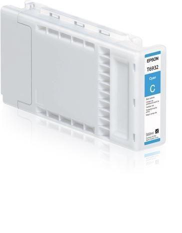 Epson Tusz Cyan T6932 | 350 ml | SC-T3000/SC-T5000/SC-T7000