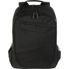 Tucano Lato Black, Shoulder strap, Backpack, Polyester