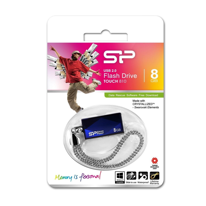 Silicon-Power Pendrive (Pamięć USB) 8 GB USB 2.0 Niebieski