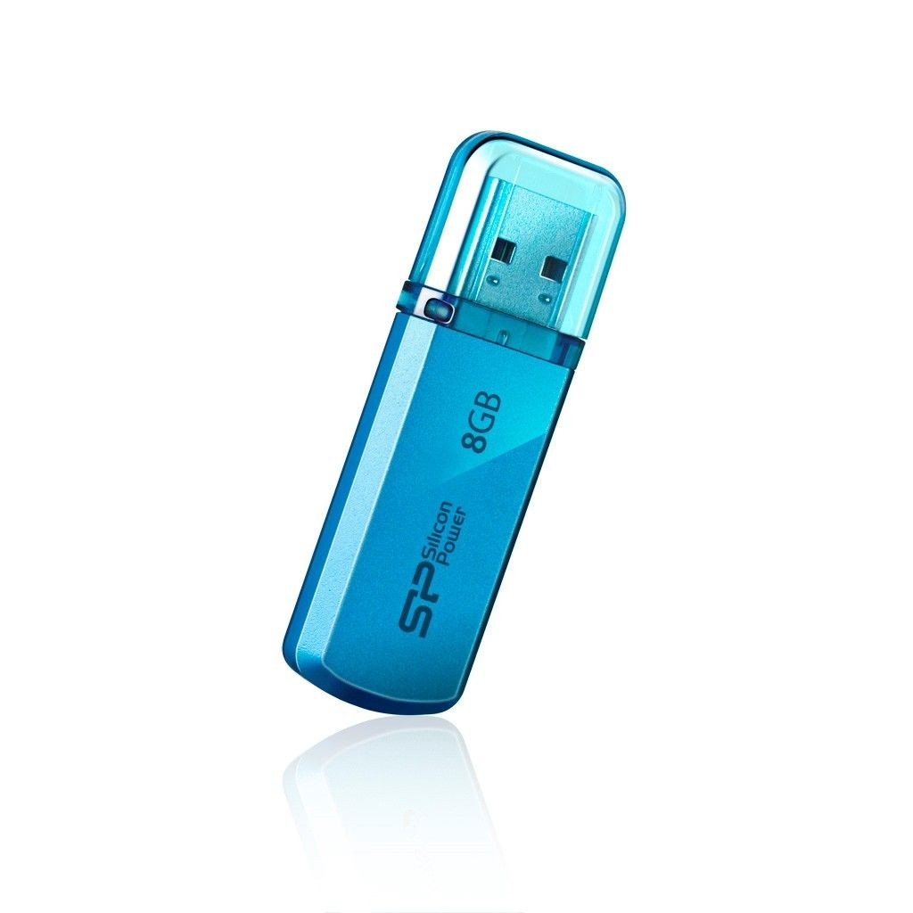 Silicon-Power HELIOS 101 8GB USB 2.0 Ocean Blue