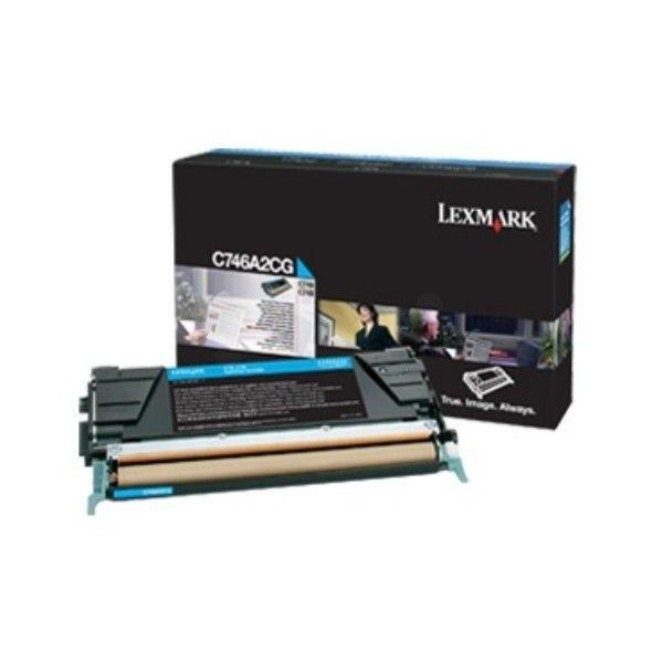 Lexmark Toner cyan korporacyjny   7000 str   C746/C748