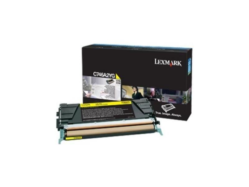 Lexmark Toner yellow korporacyjny | 7000 str | C746/C748