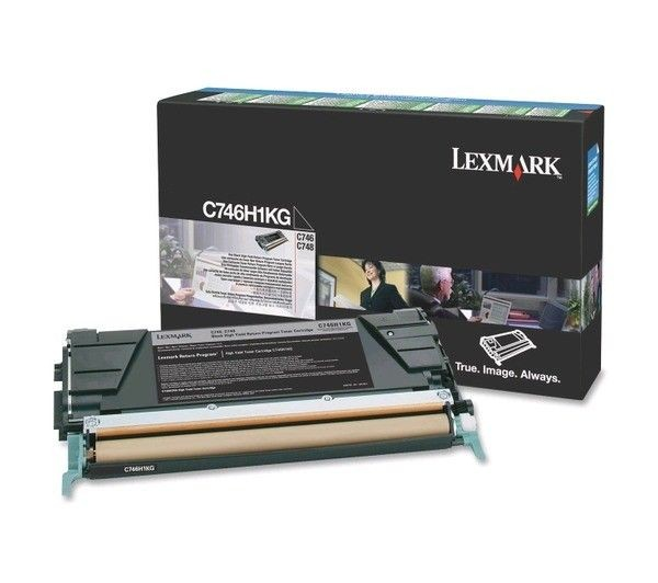 Lexmark Toner C746/C748 bk C746H3KG