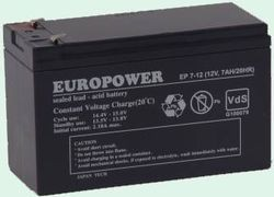 Ever Europower akumulator 12V/7Ah