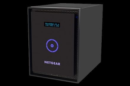 Netgear Serwer NAS Netgear ReadyNAS 316 (Mini-tower HDD 6szt. Pamięć RAM 2GB Intel Atom 2.1GHz 316 6x2TB Desktop HDD)