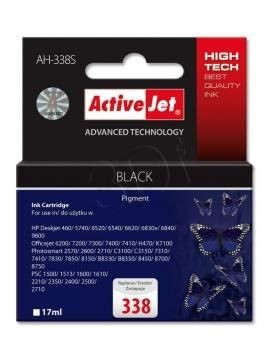 ActiveJet Tusz ActiveJet AH-338S | Czarny | 17 ml | HP 338 C8765EE