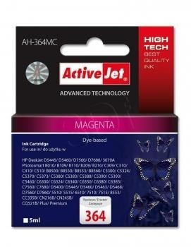 ActiveJet Tusz ActiveJet AH-364MC | Magenta | 5 ml | HP 364 CB319EE