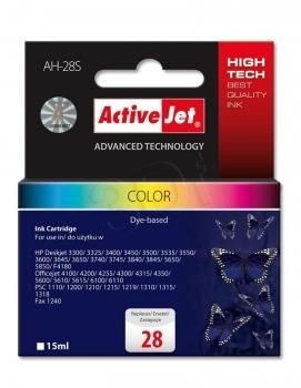 ActiveJet Tusz ActiveJet AH-28S | color | 15 ml | HP 28 C8728A