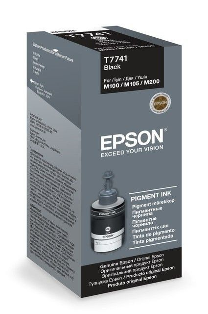 Epson Tusz T7741 Black | 140ml | seria M