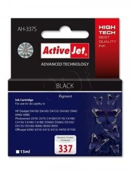 ActiveJet Tusz ActiveJet AH-337S | Czarny | 15 ml | HP 337 C9364EE
