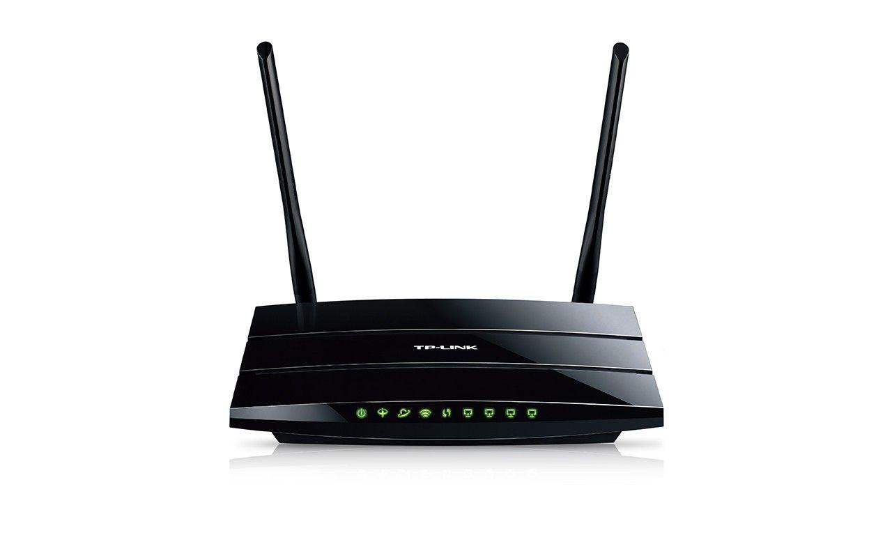 TP-Link W8970 router ADSL2+ WiFi N300 1WAN 4LAN-1GB USB