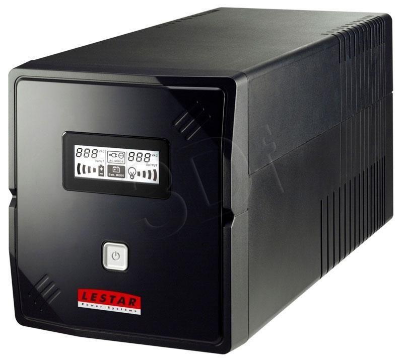 Lestar UPS V-1000 1000VA/600W AVR LCD 4x IEC USB RJ 45