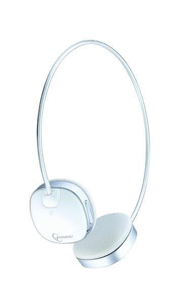 Gembird GEMBIRD sluchátka s mikrofonem BHP-003S, Bluetooth, stříbrná