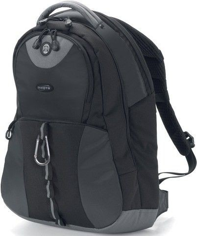 Dicota BacPacMission XL black 15 - 17.3'' czarny plecak na notebook
