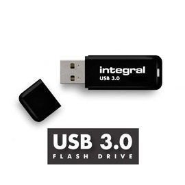 Integral pamięć USB 3.0 - 16GB NEON NOIR - transfer do 80MB/s